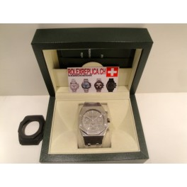Audemars Piguet replica offshore crono Leo Messi limited stainless stell grey dial